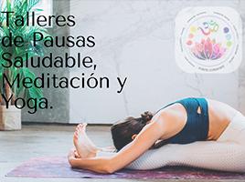 Punto Consiente – Talleres de Pausas Saludables, Meditacion y Yoga